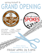 Spring Bike Kick-off and Grand Opening at SPOKES