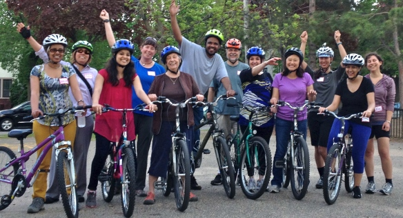 June 2014 Learn-to-ride class