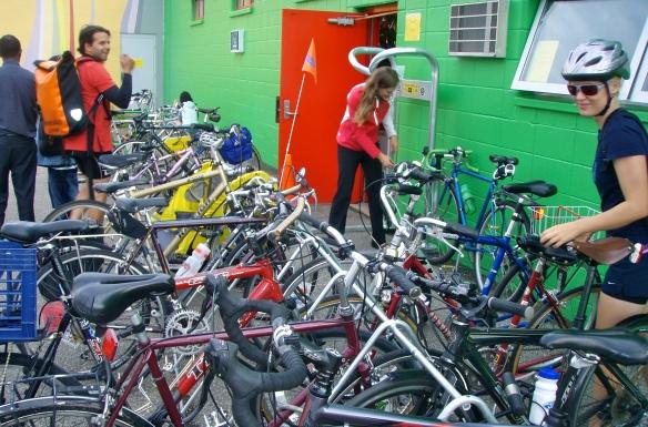 Kick-off Bike parking